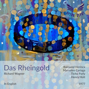 Wagner: Das Rheingold (In English) - Herincx, Cariaga, Parly, Rivers, Crook, Mangin; Holt. 1977