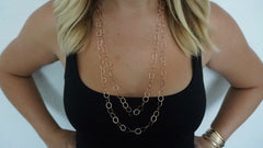 5' Rose Gold Link Chain Necklace