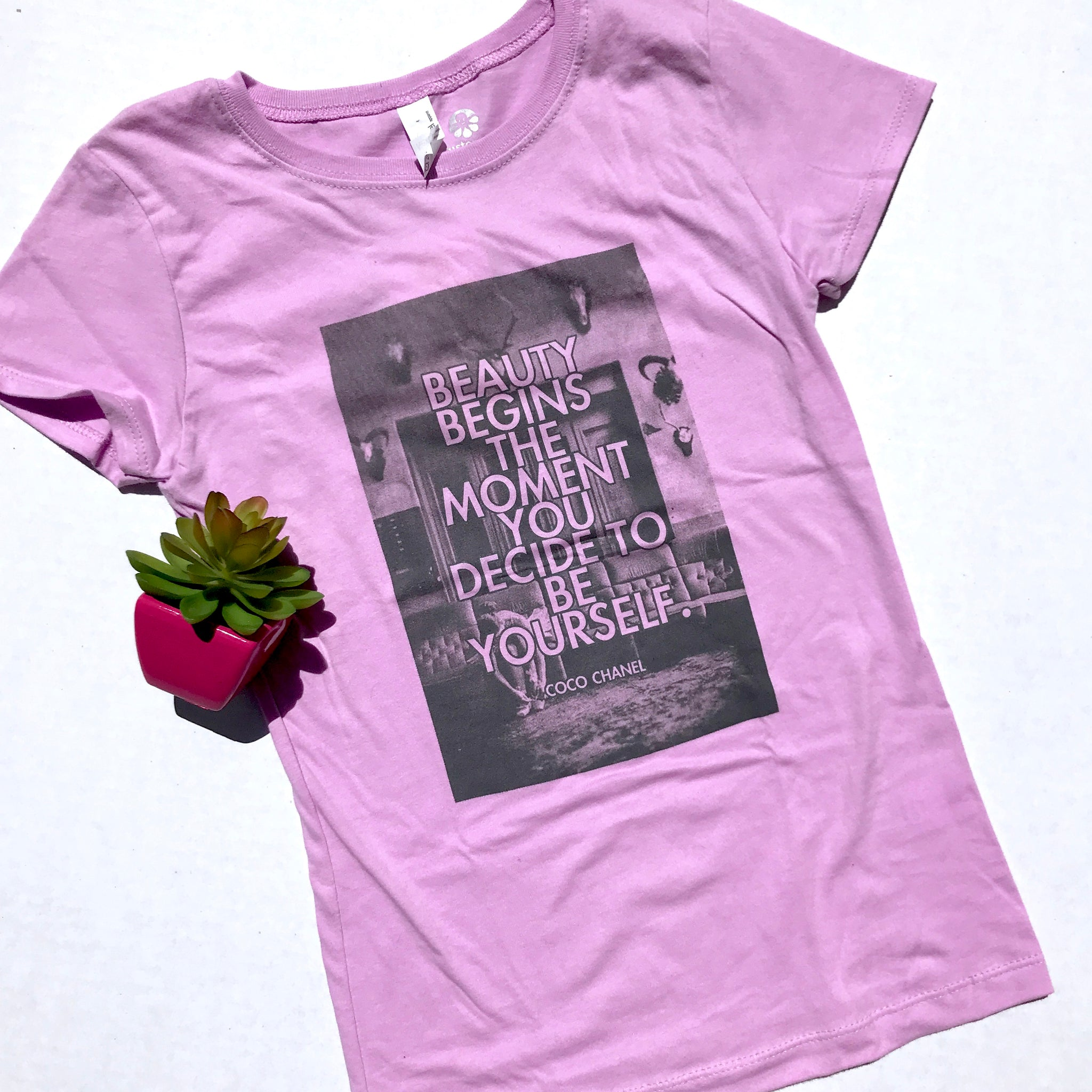 Being Yourself is Beautiful Tee