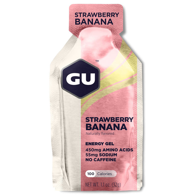 GU Gels: Strawberry Banana