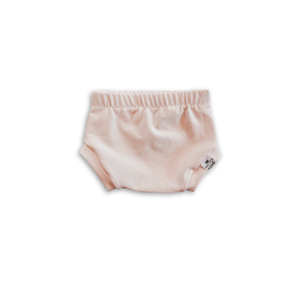 Pink Blush Bummies or Harem Shorts for Baby Toddler and Kids
