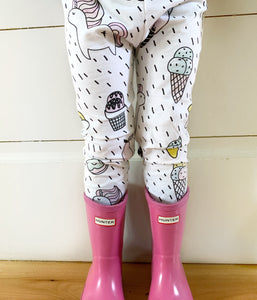 Unicorn Leggings or Harem Pants for Baby Toddler and Kids