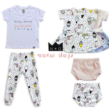 Load image into Gallery viewer, Unicorn Leggings or Harem Pants for Baby Toddler and Kids