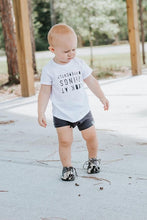 Load image into Gallery viewer, Carbon Gray Bummies or Harem Shorts for Baby Toddler and Kids