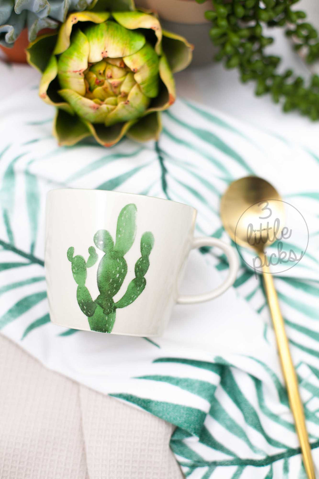Jade Mug, Drinkware, Bloomingville - 3LittlePicks