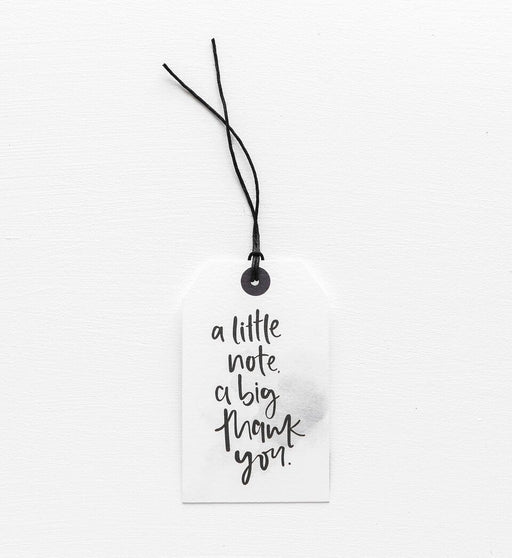 A Little Note Gift Tag, Stationary, Emma Kate Co. - 3LittlePicks