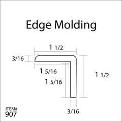 Flexitions Flexible Edge Molding