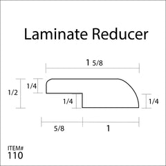 Flexitions Stainable Flexible Laminate Overlap Reducer