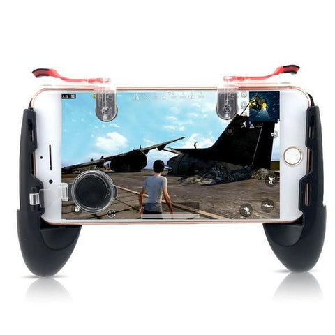 iPhone/ Android Controller for PUBG Fortnite FPS MOBA (JOYSTICK + TRIGGER included)