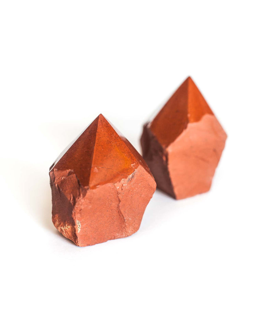 Red Jasper Top Polished Point