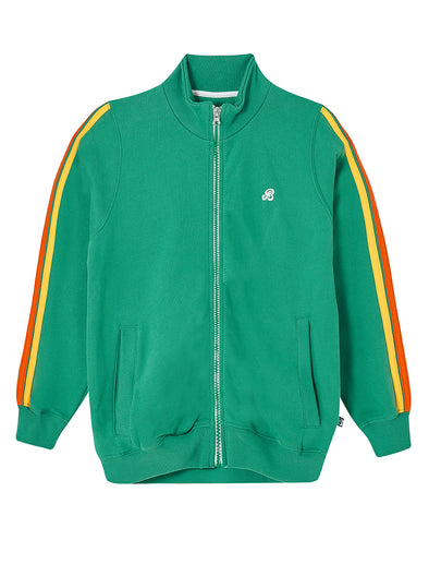 Zip-Up Sweatshirt - Kelly Green