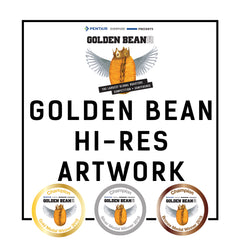 Hi - Res Sticker Artwork from Golden Bean