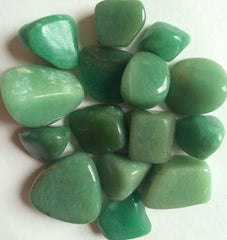 TUMBLED GEMSTONES - Green Aventurine