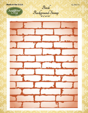 JustRite Brick Background Stamp