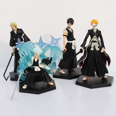 4pcs/set Bleach Collectible Models