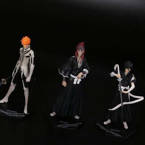 3pcs/set Bleach Collectible Model