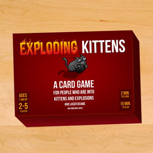 Exploding Kittens All-Ages Edition-Games-Other-OPUS Design