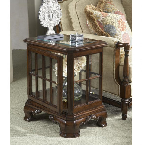 American Cherry Manchester Curio Table by Fine Furniture Design