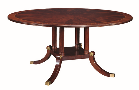 "Henkel Harris 66"" Round Dining Table"