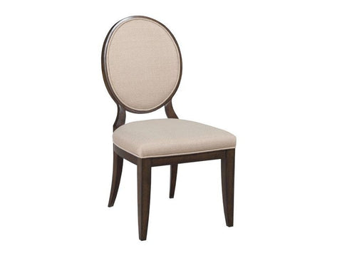 Grantham Hall Upholstered Side Chair w/ Decorative Back (Set of 2) by American Drew