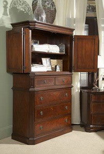 Antebellum Armoire/Entertainment Center by Fine Furniture Design