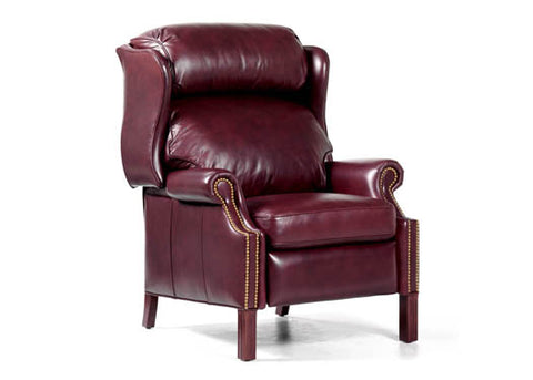Avery Leather Recliner by Randall Allan