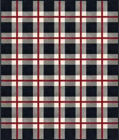 Free Download - Colorwash Woolies Flannel Plaid Quilt