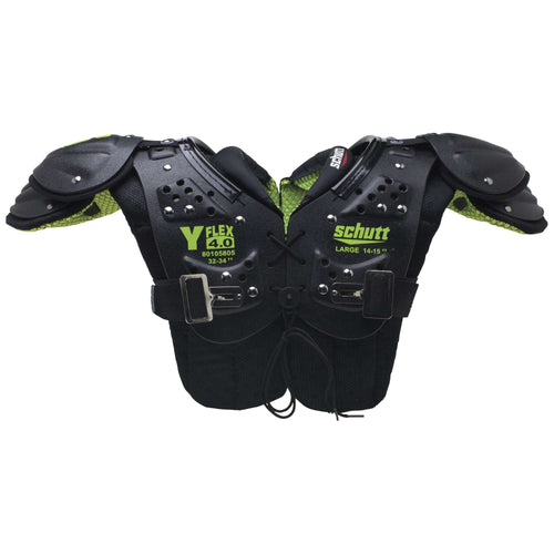 Schutt Y Flex 4.0 Youth Football Shoulder Pads - League Outfitters
