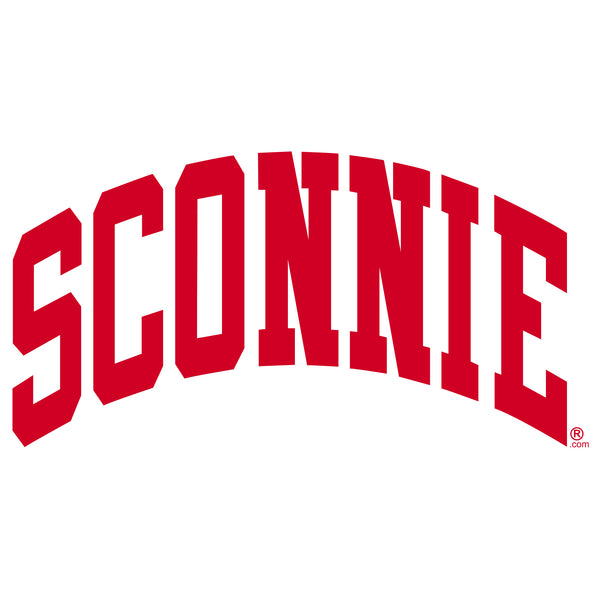 Sconnie Am App Fine Jersey Tank - White/Red