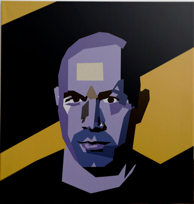 Joe Rogan custom portrait