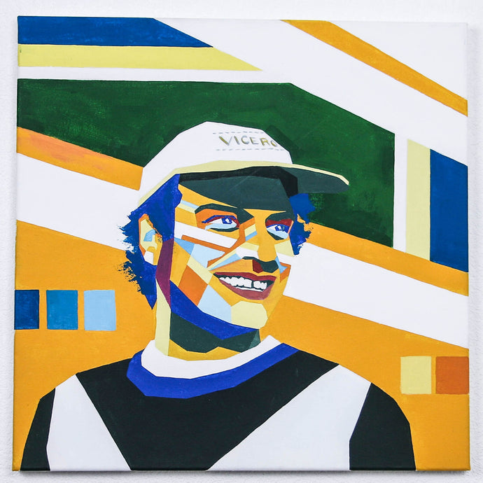 Mac DeMarco Hand-Made Portrait