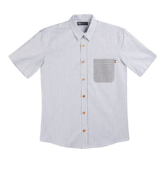 Short Sleeve Button Down - Oxford Stripe
