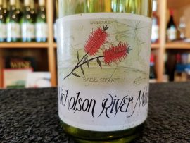 Nicholson River Winery front label 1985
