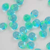 DP-0020 Mint-Lined Aqua Miyuki 3.4mm Drop Beads