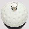 10510 Top View of Golf Ball Replica Resin Top