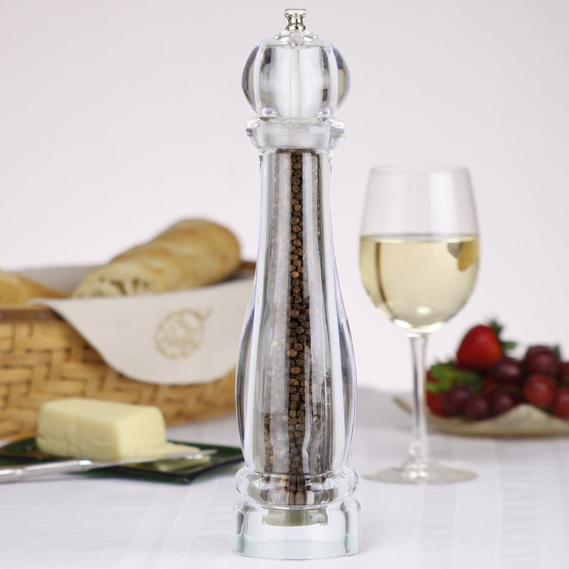12 Inch Clear Acrylic Pepper Mill 29612