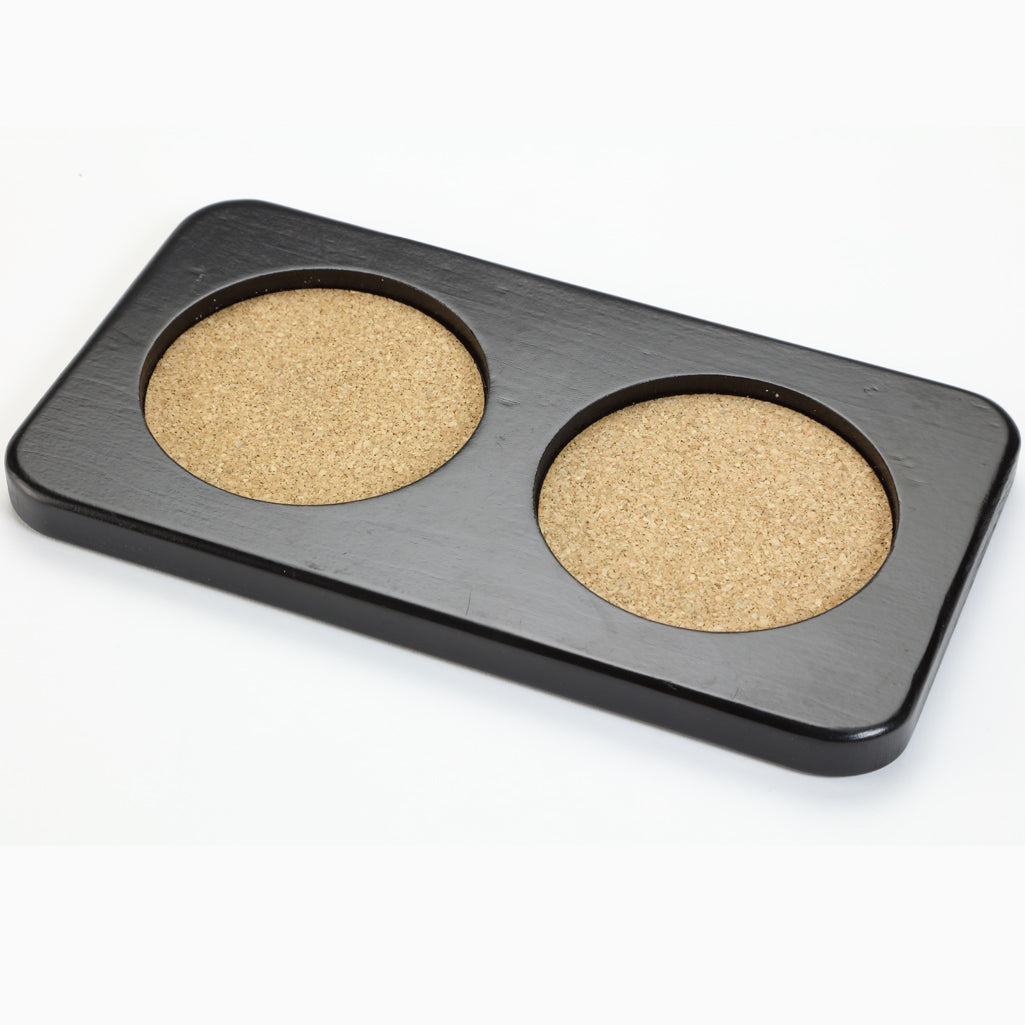 Set Coaster Tray for Pepper Mills, Salt Mills, and Shakers