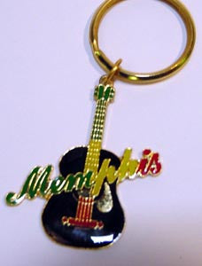 Memphis Key Chain Guitar Multi B/E