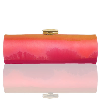 Tramanto: Hand Painted Duchess Roll Clutch
