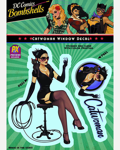 DC Bombshells Decal - Catwoman