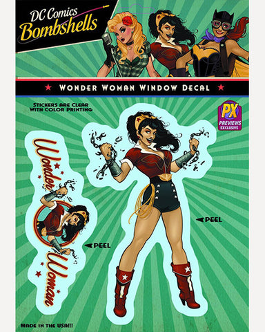 DC Bombshells Decal - Wonder Woman