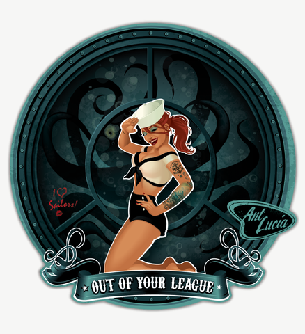 Stickers: Out of Your League