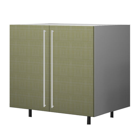 90 Cm. Greenish Base Unit With  Shelf & 2 Doors