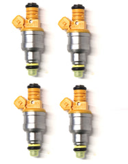 Genuine Bosch 4 Hole Upgrade 1992 - 2001 Volkwagen VW OEM 0280150955 Fuel Injectors