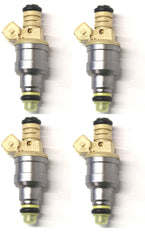 Set of 4 Rebuilt 1993 - 2001 Genuine OEM Bosch 0280150955 037906031J VW 2.0L SOHC Fuel Injectors