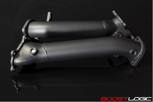 "Boost Logic 3"" Downpipes Nissan R35 GT-R 09+"