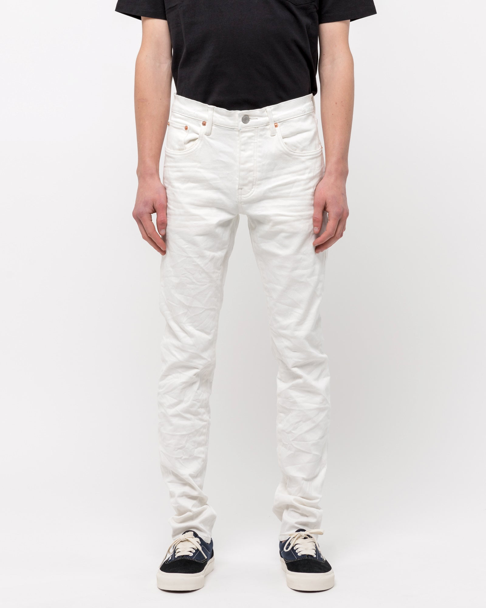 001 Slim Fit Jeans in White