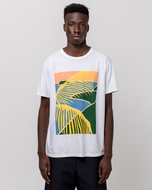 Beach Scene T-Shirt in White