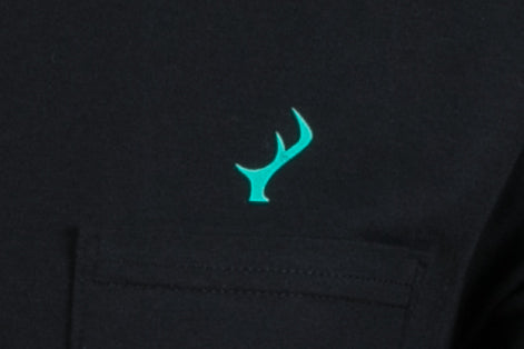 Men's T-Shirt - Black Pocket Logo