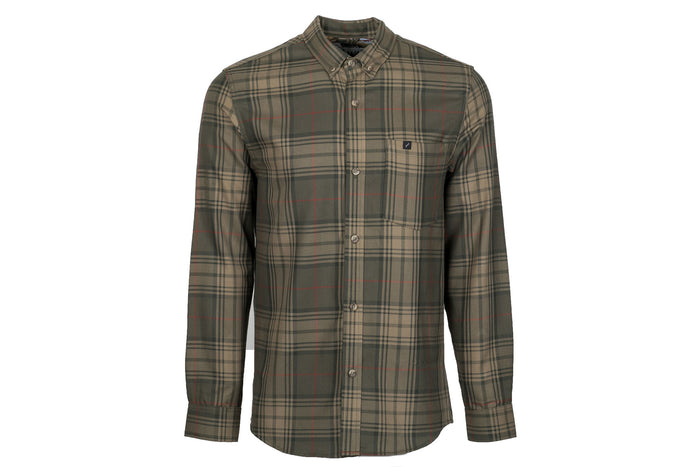 Men's Elli - Flush Green Flannel